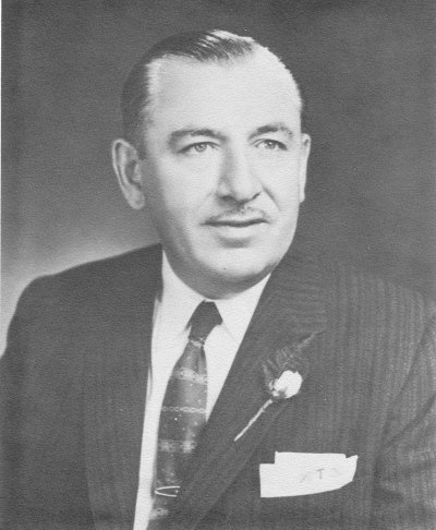 US congressman Thomas D'Alesandro, Jr. of Maryland