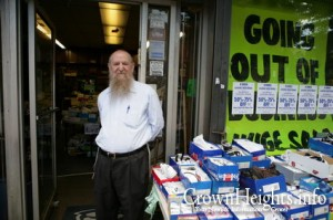 Kievman Shoe Store Closing after 23 Years. Photo Credit: Crownheights.info