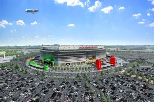 A rendering of the new stadium.Photo: Courtesy of New York New Jersey Football