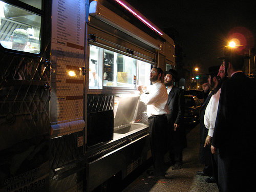 Zealots forced Mr. Lichtensten to close down his sub on wheels food truck.