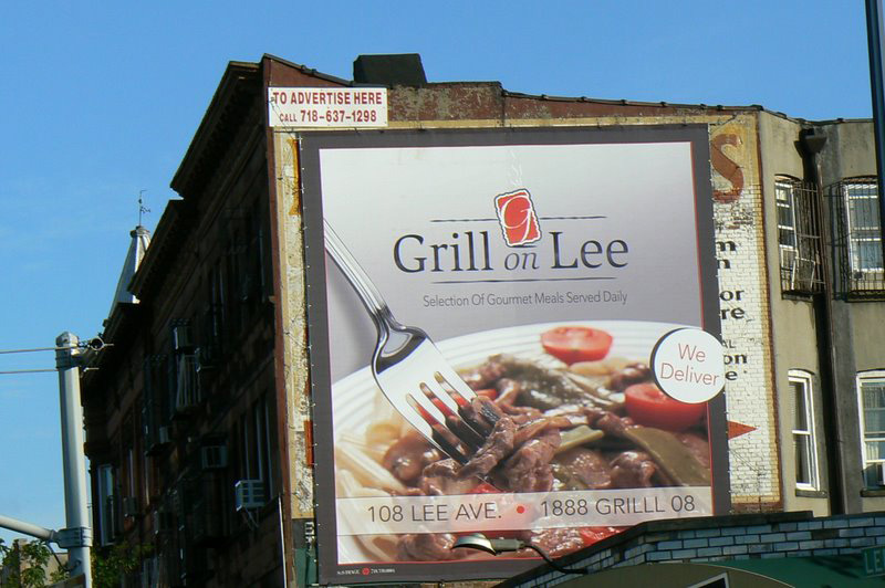 Grill On Lee ad before it was cut in half. PHOTO CREDIT: joeflix.blogspot.com