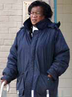 56-year-old Zeituni Onyango was told to leave America by a U.S. immigration judge in 2004.<br />