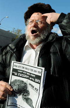 Rabbi Nachum Rosenberg said he has received death threats from the Jewish community for opening a help line for victims of sexual abuser.