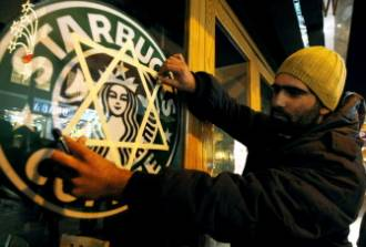 Image result for Jew in Starbucks