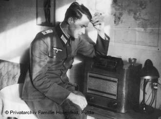 Wilm Hosenfeld during his deployment in Warsaw in the 1940s