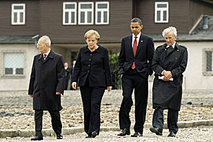 Obama's great uncle helped liberate a satellite camp of Buchenwald [Reuters]