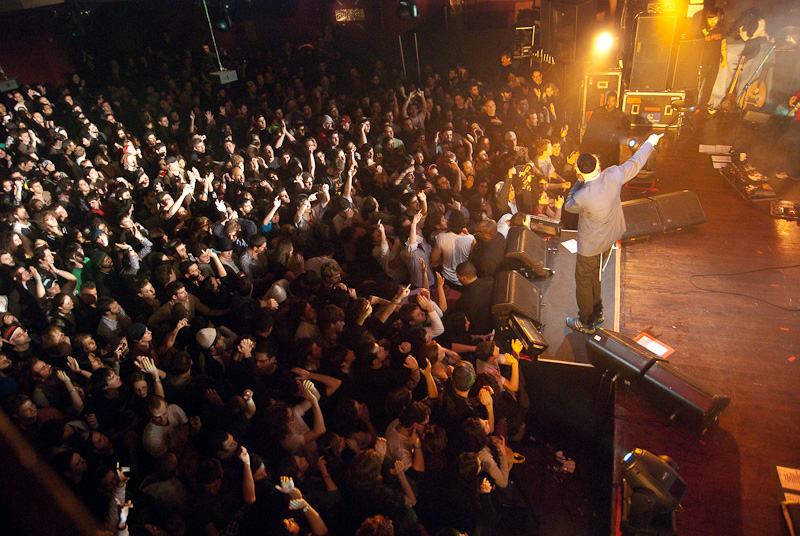 Matisyahu wows the crowd, but do they understand what he sings? [photo credit: J. L. De Cristofaro]