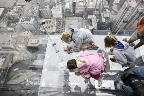 Chicago, IL - Sears Tower: New Glass