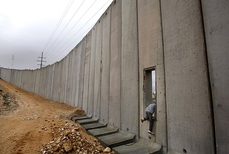Jerusalem un israel must tear down west bank barrier for Muralla entre mexico y guatemala