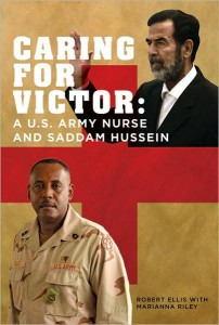 An Army nurse from St. Louis chronicles Saddam Hussein's human side in this new book.