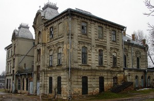 The Great Synagogue in Hrodna It is in a terrible state