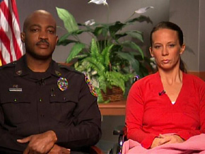 Senior Sgt. Mark Todd, another civilian police offer with military service, joined Sgt. Munley. Together, they took down Maj. Hasan. Sgt. Munley suffered bullet wounds in both her legs and her wrist. Senior Sgt. Todd was not injured