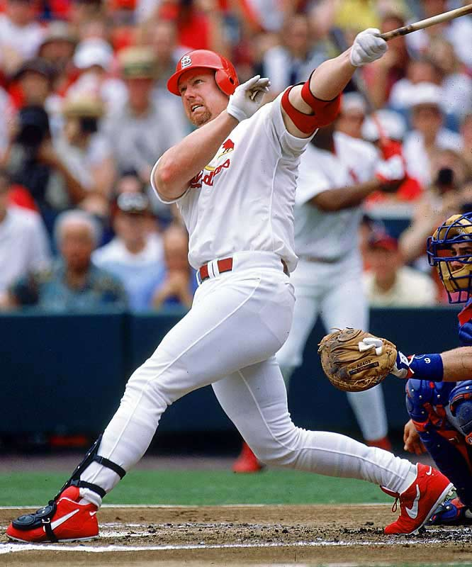 ironic whining ad nauseum cardinals fans announcers evidence argument mark mcgwire