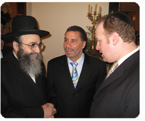 With Gov. Paterson and city council candidate David Greenfield