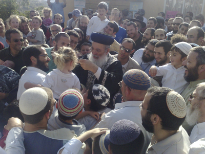Sephardi Chief Rabbi Rules Against Annulling Conversions Photo: Flash90
