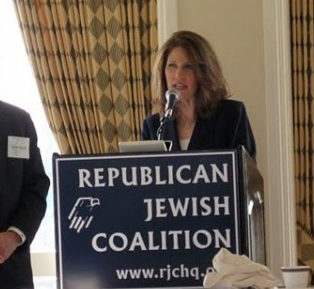 Congresswoman Michele Bachmann said America 'cursed' by God 'if we reject Israel'