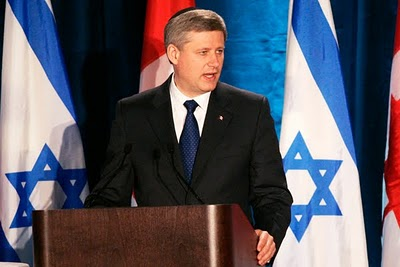 Harper is a Staunch Pro-Israel Supporter