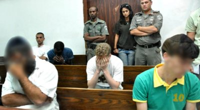The three arrested in court this morning