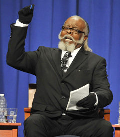 Rent Is Too Damn High candidate Jimmy McMillan