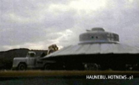 Was this bell-shaped craft being developed by the Nazis? A Polish former journalist and historian of military claims the Germans built a UFO.