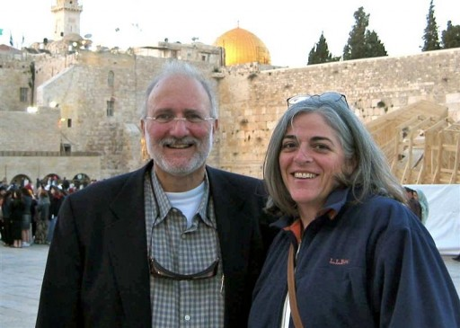 FILE - U.S. aid contractor Alan Gross and his wife Judy pose for a picture in Jerusalem in the spring of 2005, in this family photograph released on October 23, 2010.