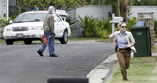 Kailue Hawaii Pickup Truck Driver Races Through Obama