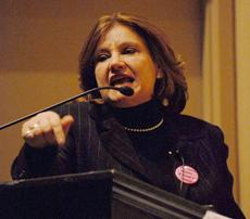Nonine Darwish, president of Former Muslims United