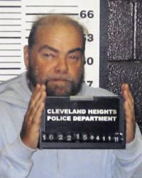 FILE - This undated photo released Tuesday, April 12, 2011 by the Cleveland Heights Police Department shows Ron Hirsch. Hirsch is believed to be a suspect in the explosion outside a Santa Monica, Ca. synagogue last week. Hirsch, 60, was taken into custody in Cleveland Heights, Ohio late Monday. (AP Photo/Cleveland Heights Police Department)