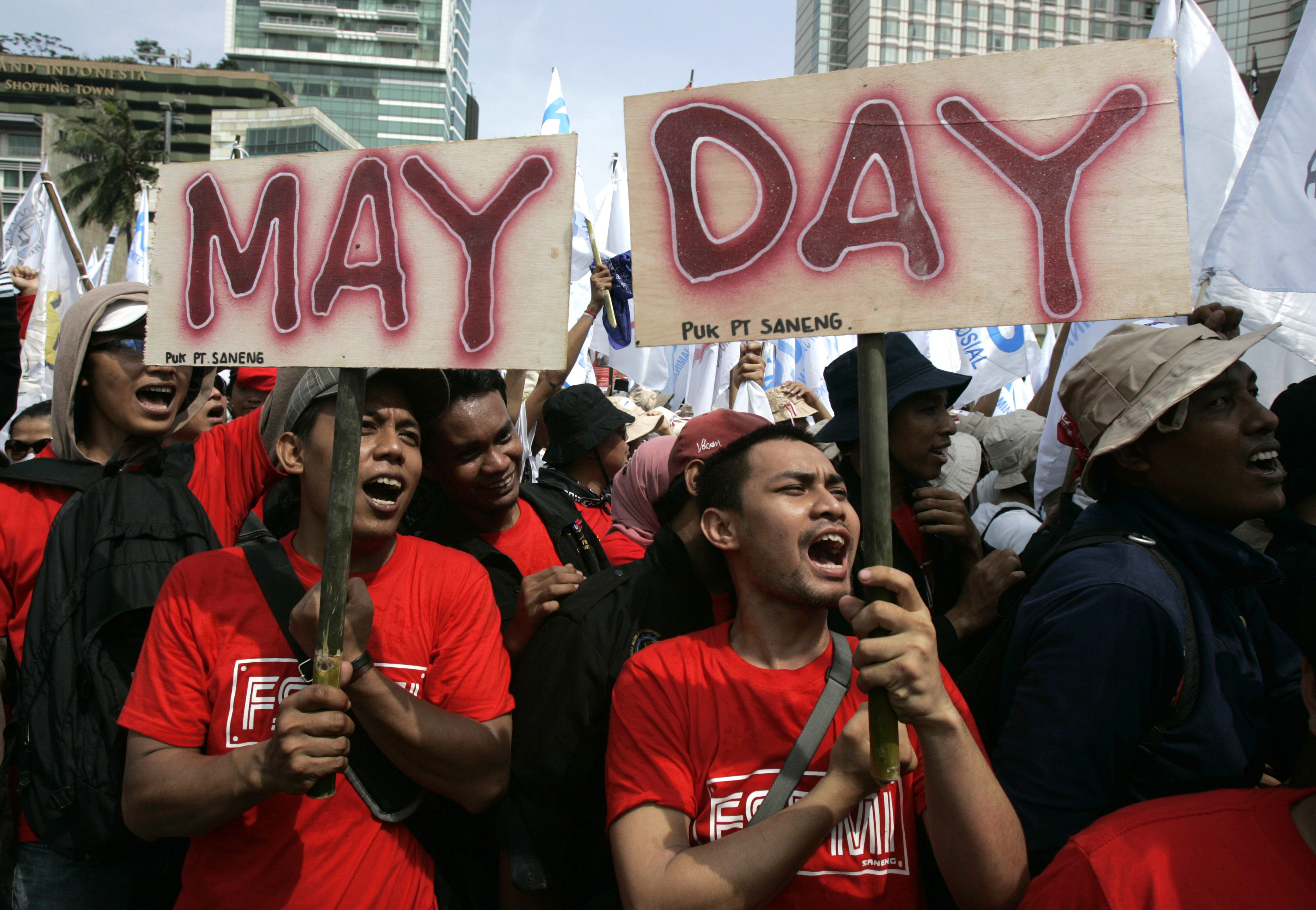 Image result for may day indonesia