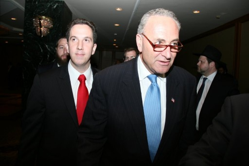 Phillip Goldfeder, an aide to U.S. Sen. Chuck Schumer. Photo credit: Shimon Gifter