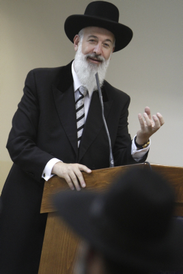 FILE - Ashkenazi Chief Rabbi of Israel Yona Metzger. Flash90