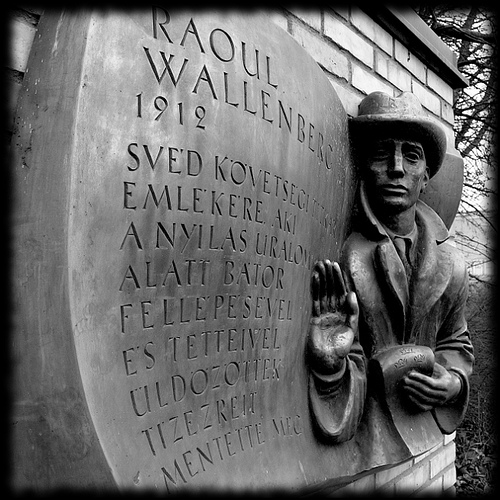 Raoul Wallenberg Memorial, Linköping Sweden