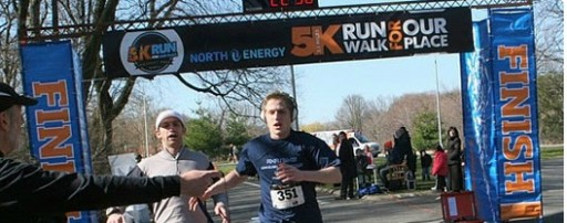 A file photo from the run last year