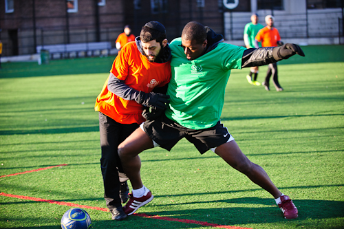 Soccer for Harmony, named by a rabbi and a soccer coach in Crown Heights, launched its first tournament featuring Caribbean, African-American and Jewish players on a frigid, December day in 2011