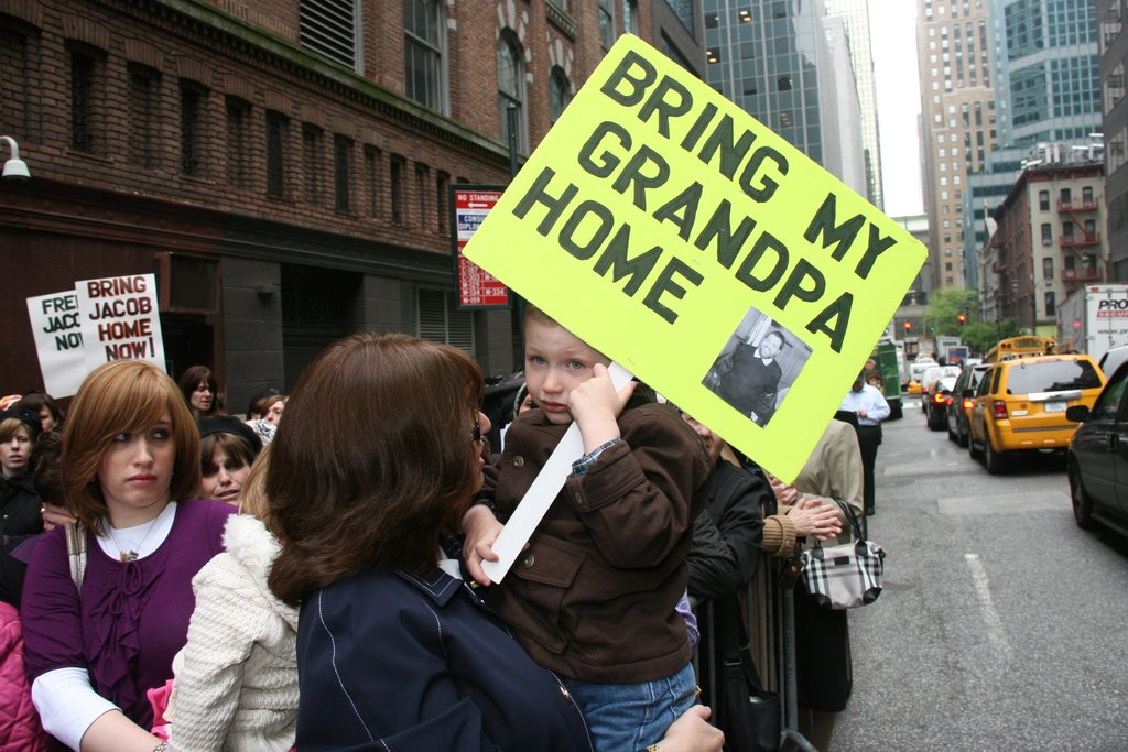 New York, NY - Calls For Justice Resound At Ostreicher Rally