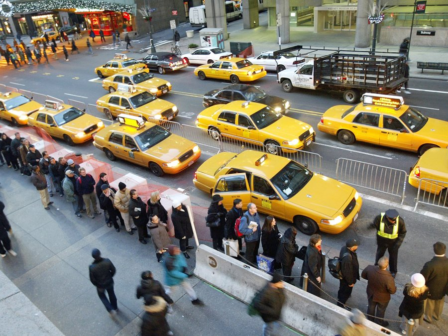 New York, NY - Taxi Fares Could Jump By 20 Percent