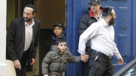 Security was tightened at Jewish schools across France after the Toulouse shootings