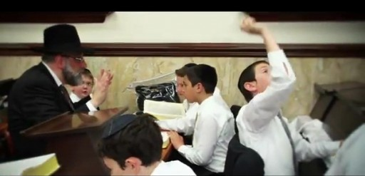 Image grab from a newly released music video, the first ever released by Yerachmiel Begun's Miami Boys Choir