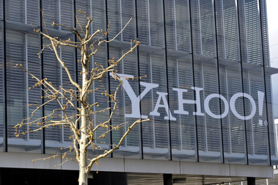 The European headquarters of US multinational internet corporation 'Yahoo!' in Rolle, Switzerland, 04 April 2012.
