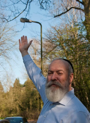 South Hampstead Synagogue rabbi Shlomo Levin who spearheaded this eruv effort said there has been overwhelming support for the proposal. Photo: courtesy to VINNews.com by nigelsuttonphotography.com