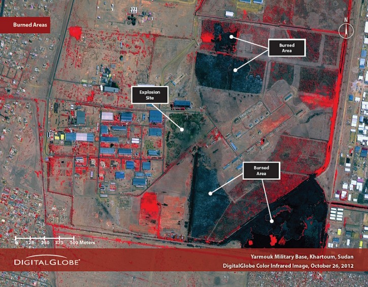 United Nations Satellite Images Suggest Sudan Arms Factory Was