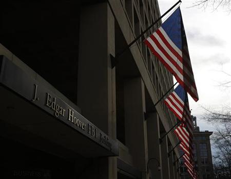 The main headquarters of the FBI, the J. Edgar Hoover Building, is seen in Washington on March 4, 2012.<br /> Credit: Reuters/Gary Cameron