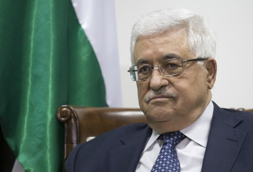 The President of the Palestinian Authority Mahmoud Abbas is seen during a meeting at Abbas' offices in Ramallah, West Bank, 20 November 2012. EPA/HANNIBAL HANSCHKE