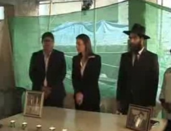 Israel's Consul General in Mumbai, Orna Sagiv Rabbi Chaim