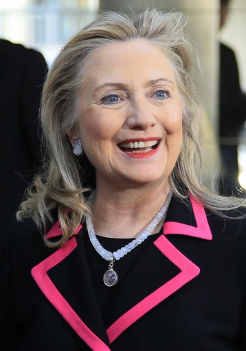 File photo of U.S. Secretary of State Hillary Clinton from December 4, 2012. REUTERS/Yves Herman