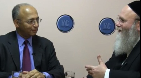 Seeking to Win Orthodox Jewish Votes - Bill Thompson a 2013 Candidate For Mayor of NY City - Talks to Yosef Rapaport of YC Reports.