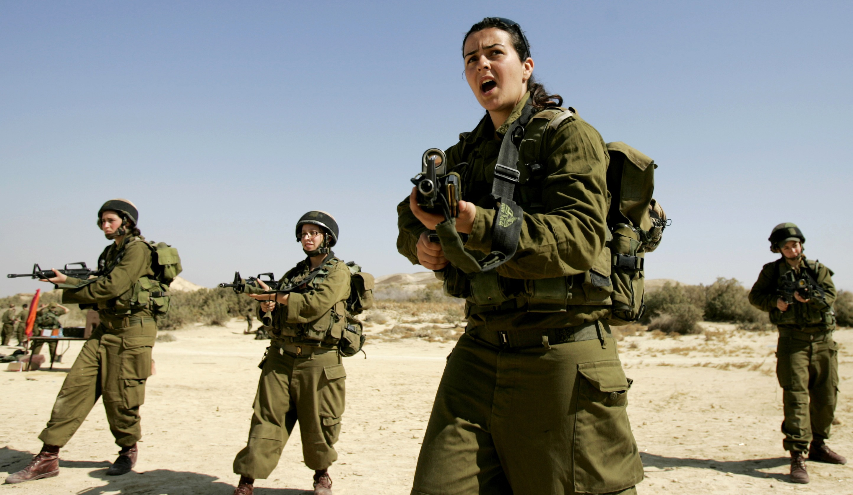 Israeli Female Soldier Beach | www.pixshark.com - Images ...