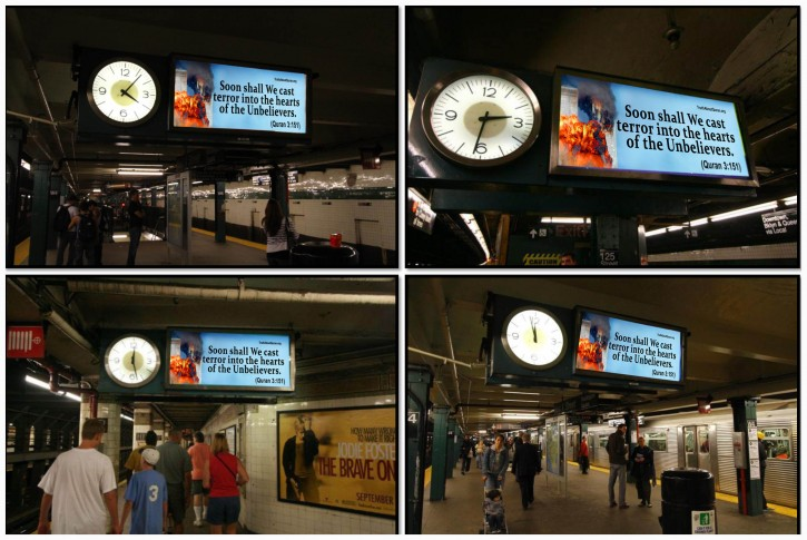 The group has purchased over 220 clocks in the NYC subway system