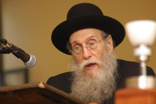 FIle - Rav Bravda on March 4 2009 - Photo: aliyosshmuel.com