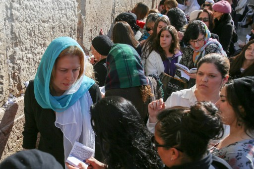 Israeli head of the Hatnuah party Tzipi Livni during election tour in the western wall in the in the old city of Jerusalem, Jan 3, 2013. Photo by FLASH90